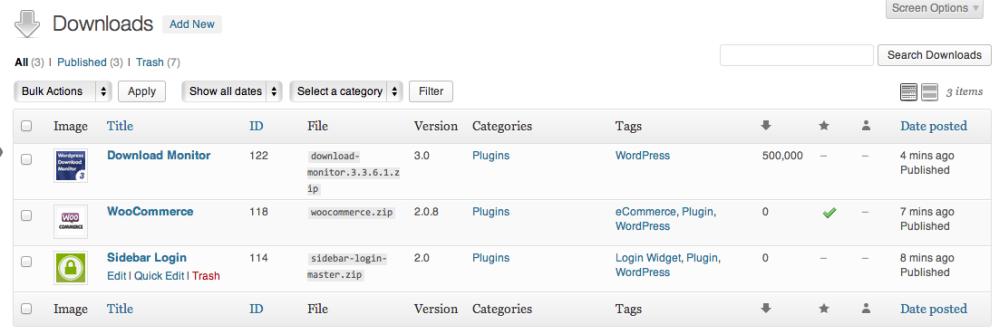 Custom post types, woo!