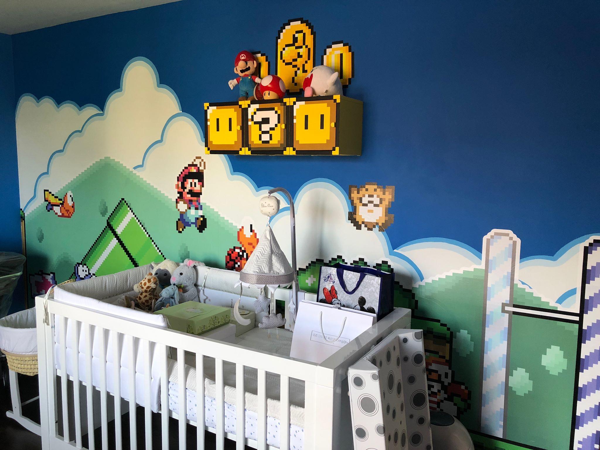 I made a Super Mario Themed Nursery – Mike Jolley